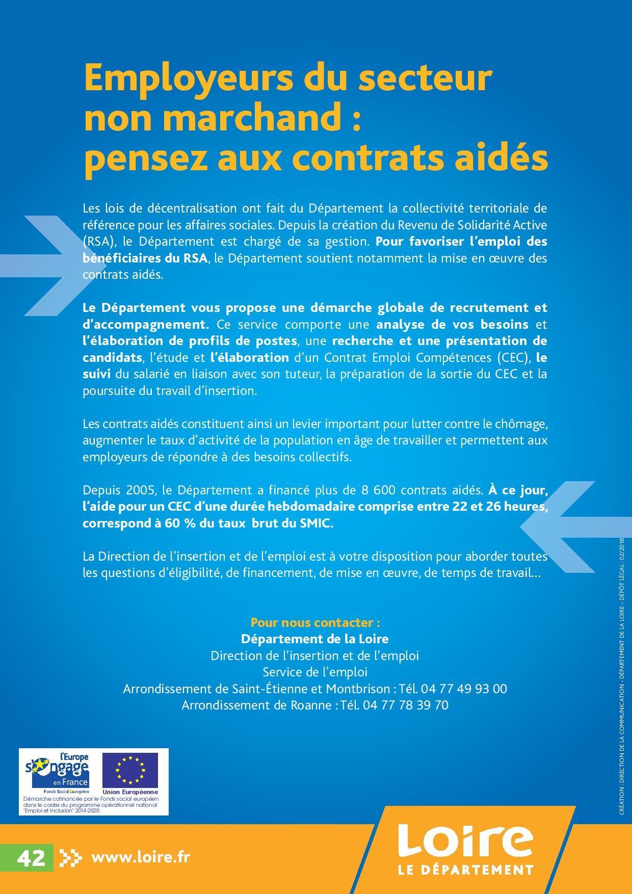 Forez Entreprendre, Loire, Département